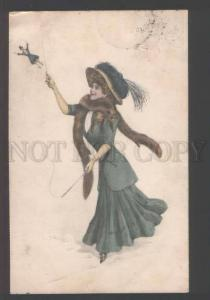 111215 SUPERIOR Woman & LITTLE MAN Fantasy Vintage Novitas PC