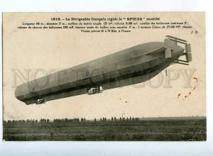 205547 FRANCE AVIATION airship dirigible SPIESS Hauser #1819
