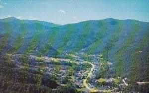 Tennessee Gatlinburg  Air View Of Gatlinburg