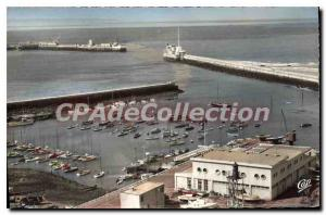 Old Postcard Le Havre Bassin The Yachts And I'Entree Du Port