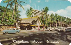 Hawaii Waikiki Kalakaua Avenue Showing International Market sk5717