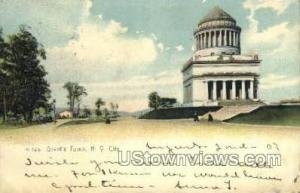Grant's Tomb New York City NY 1907