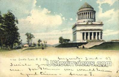 Grant's Tomb New York City NY 1907