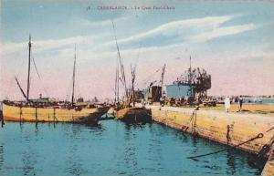 Casablanca , Morocco, 00-10s ; Le Quai Paul-Chaix