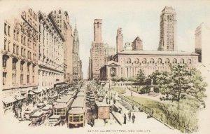 NEW YORK CITY, 1930s ; 42nd Street & Bryan Park