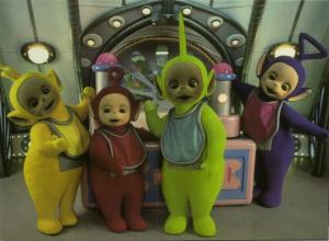 British Pre-School Children's Television Series TELETUBBIES (1996) 4