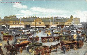 N.Y. West Washington Market carriages 1902