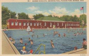 WARREN, Ohio, 1930-40s; Warren Municipal Swimming Pool, Packard Park