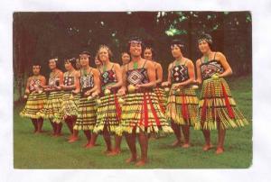 The Haka Poi, Maori dance, New Zealand, 50-70s