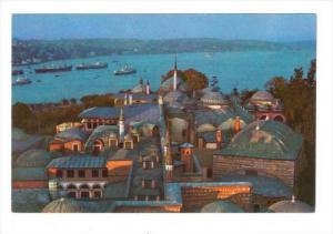 Sunset On The Topkapi Palace (Sultan's Palace), Istanbul, Turkey, 1950-1970s