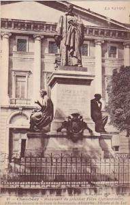 Monument Du President Favre (Jurisconsulte), Chambery (Savoie), France, 1900-...