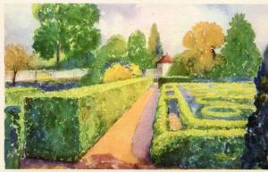 VA - Mount Vernon, The Flower Garden