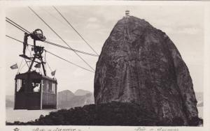 RP, Cable Car (Side View), Pao De Assucar, Rio De Janeiro, Brazil, 1920-1940s