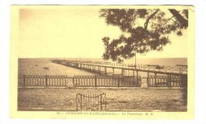Andernos-les BAINS (Gironde).-La Passerelle, France, PU-1935