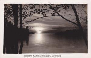 RP: Sunset Lake MUSKOKA , Ontario , Canada , 30-40s