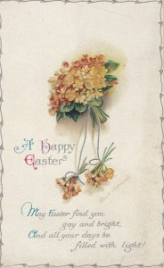 CLAPSADDLE ; Yellow Flowers , EASTER , 1900-10s