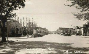 RP: TORRINGTON , Wyoming , 1930-40s ; Street (Oregon Trail)