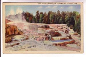 Travertine Rock, Cleopatra Terrace, Yellowstone National Park