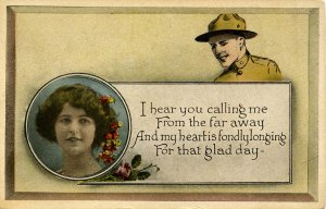 Military, WWI - To My Soldier Boy (Series 604)