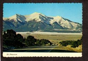 CO Mt Princeton Valley Buena Vista Colorado Postcard