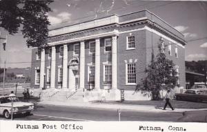 Putnam Post Office Putnam Connecticut Real Photo 1968