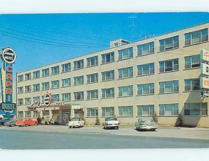 Unused Pre-1980 OLD CARS & CAPRI HOTEL IN MONTREAL Quebec PQ CANADA Q4884
