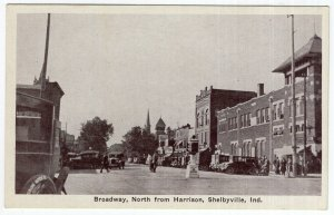 Shelbyville, Ind., Broadway, North from Harrison