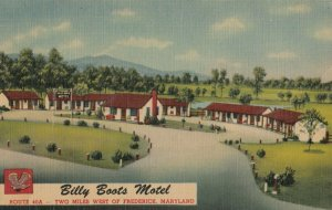 FREDERICK , Maryland , 1930-40s ; Billy Boots Motel