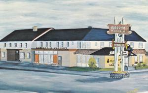 Auberge 4 Chemins , Forestville, Quebec , Canada , 50-60s