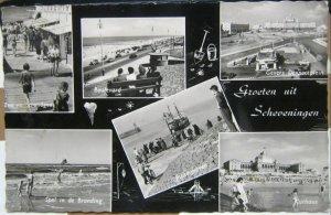Netherlands Groeten uit Scheveningen - posted 1958