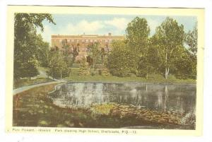 Howard Park showing High School, Sherbrooke,Quebec, Canada,00-10s
