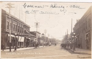 RP; PRINCE ALBERT, Saskatchewan, Canada, PU-1914; Central Ave