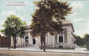 BATTLE CREEK, Michigan, 1900-1910's; U.S. Post Office