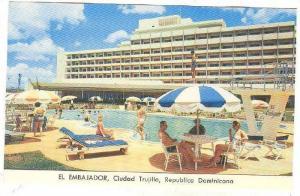 El Embajador, Swimming Pool, Ciudad Trujillo, Dominican Republic, 1940-1960s