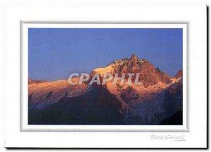 Postcard Modern Mountain Image Petit Matin