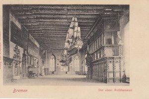 BREMEN, Germany , 1890s ; Der Obere Rathhaussal