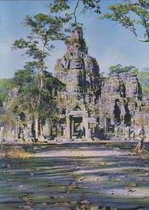 Cambodia Siam Reap Bayon Tour a Visages Angkor Thom