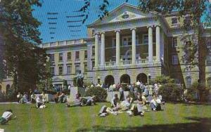 Wisconsin Madison Bascom Hall 1956