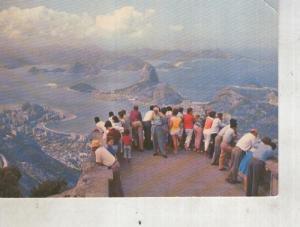 Postal 014449: Vista do Corcovado en Rio de Janeiro, Brasil
