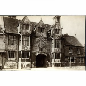 Real Photograph Postcard 'Talbot Inn, Oundle'