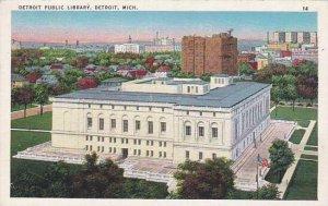 Michigan Detroit Detroit Public Library 1938