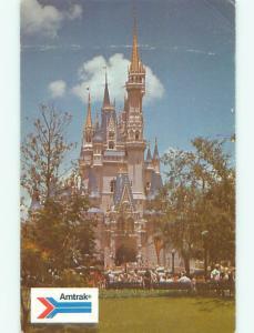 Bent - Pre-1980 POSTCARD - AMTRAK TRAIN Orlando FL p2774