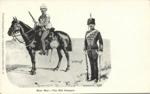 BOER WAR, The 10th Hussars, Active & Home Service (1899)