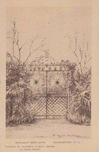 South Carolina Charleston Wrought Iron Gate