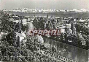 Modern Postcard Zurich