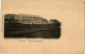 CPA AK INDOCHINA Dap Cau Caserne d'Infanterie VIETNAM (956902)