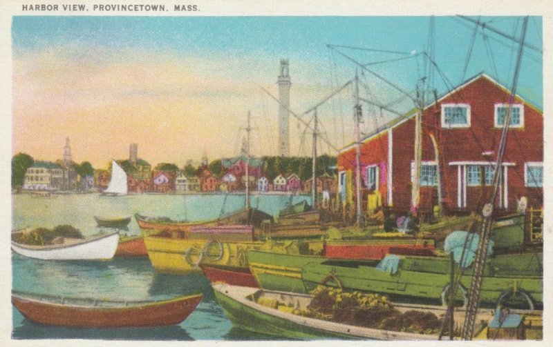 PROVINCETOWN, Massachusetts, 1910-20s; Harbor View
