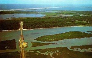 Virginia Aerial View Chincoteague To Assateague Island