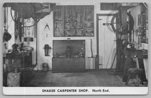 Old Chatham New York~Shaker Museum~North End of Shaker Carpenter Shop~Tools~'50s