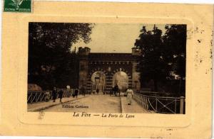 CPA La fere .- La porte de laon  (157681)
